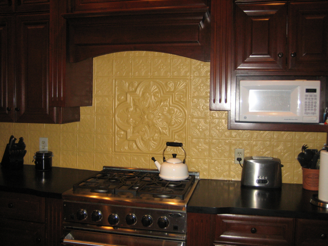 how 2 install faux tin backsplash apps directories